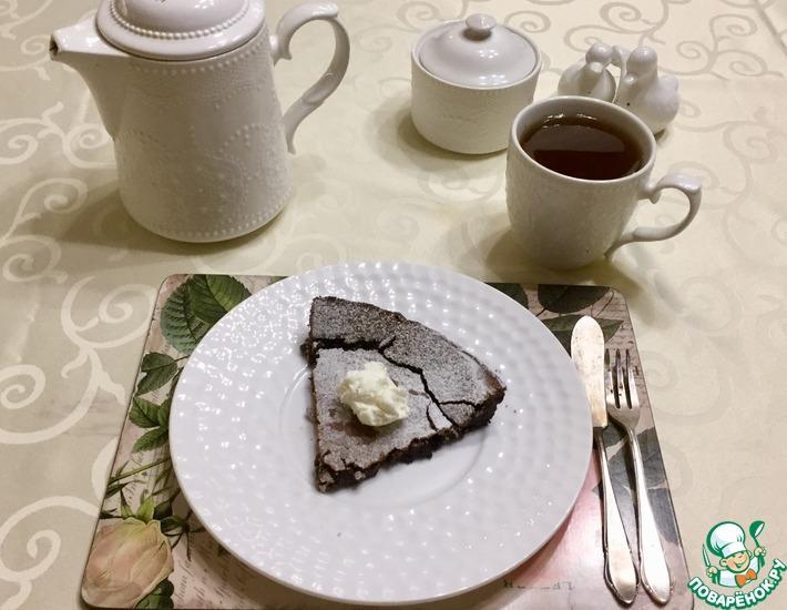 Рецепт: Шведский мокрый пирог