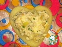 Хрустящие пирожки Сердечки ингредиенты