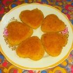 Хрустящие пирожки Сердечки