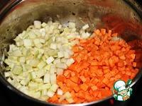 Овощной суп с чечевицей и пармезаном ингредиенты