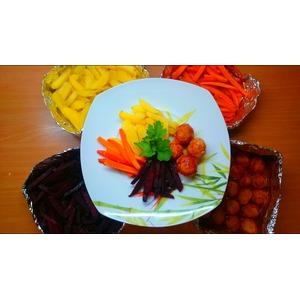 Ужин с запеченными овощами Все и сразу