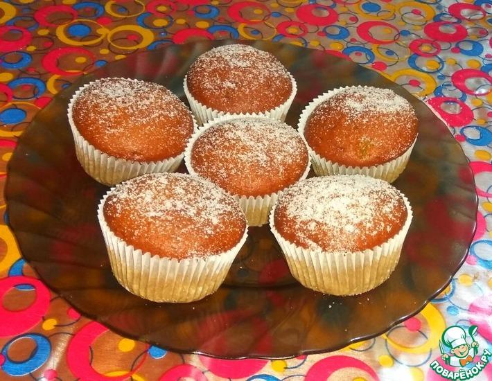 Рецепт: Постные кофейно-карамельные кексы