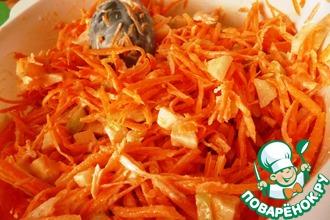 Рецепт: Простой салат из моркови