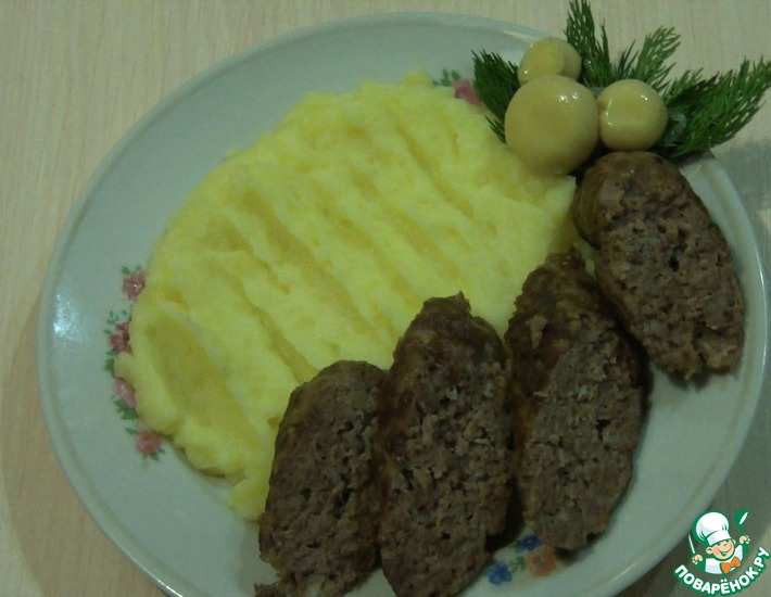 Рецепт: Колбаски из косули