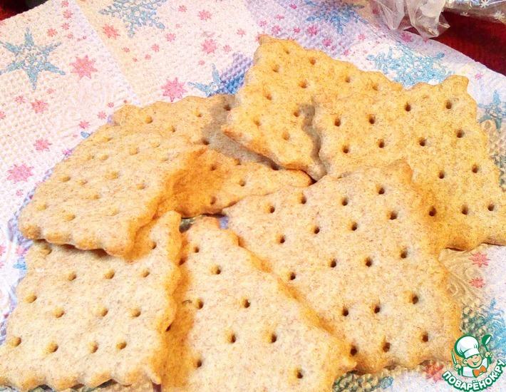 Рецепт: Цельнозерновые крекеры