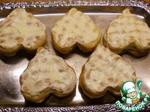 Пирожные с лимонным кремом и желе