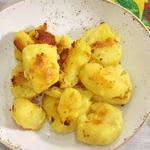 Запеченный сливочный картофель с хрустящей корочкой