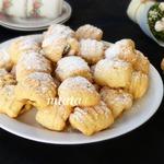 Печенье с финиками и клюквой