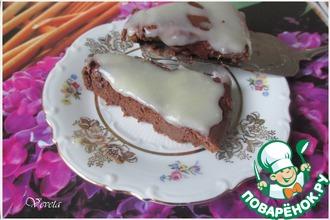 Рецепт: Шоколадный десерт Сладкая парочка