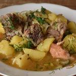 Тушеный картофель с мясом Папин