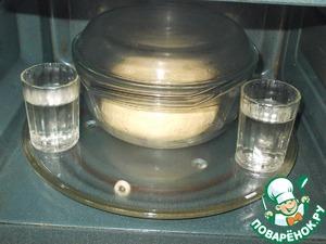 Дрожжевое тесто в СВЧ и ватрушки Мука пшеничная