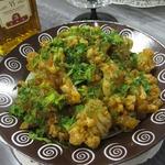 Пикантная закуска из цветной капусты
