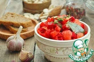 Рецепт: Зимнее овощное рагу со свеклой