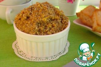 Рецепт: Намазка-паштет морковно-грибная