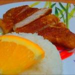 Мясо в ароматном апельсиновом маринаде