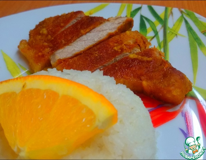Рецепт: Мясо в ароматном апельсиновом маринаде