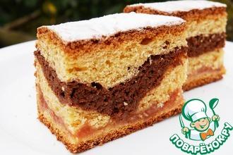 Рецепт: Песочно-дрожжевой пирог Королевский