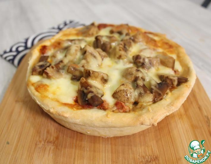Рецепт: Чикагская высокая пицца