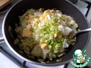 Пошаговый рецепт приготовления блинов с капустой