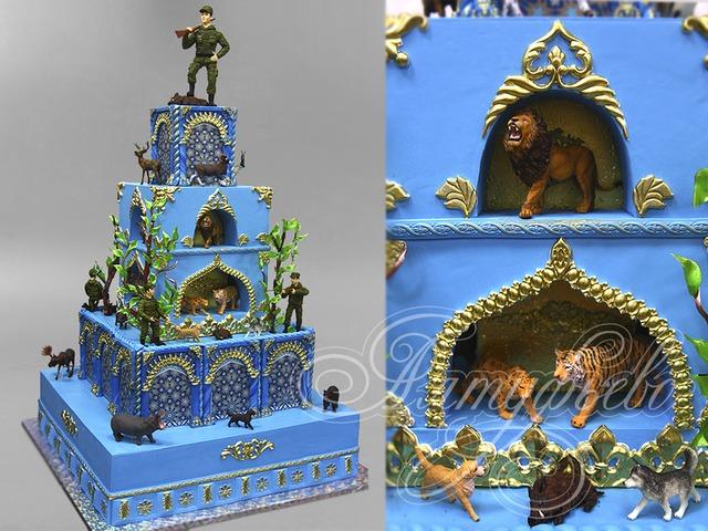 Где заказать самые необычные эксклюзивные торты на заказ? photo