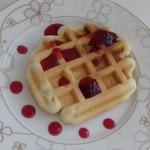 Бисквитные вафли – кулинарный рецепт