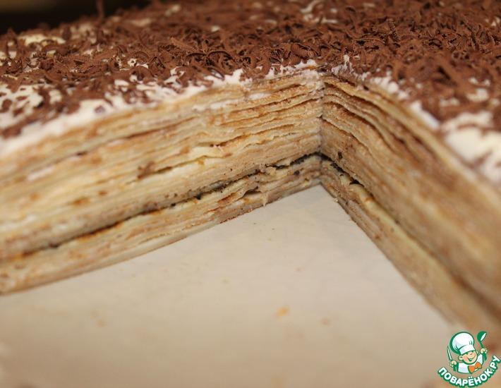 Рецепт: Блинный торт