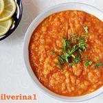 Чечевичный суп с абрикосами