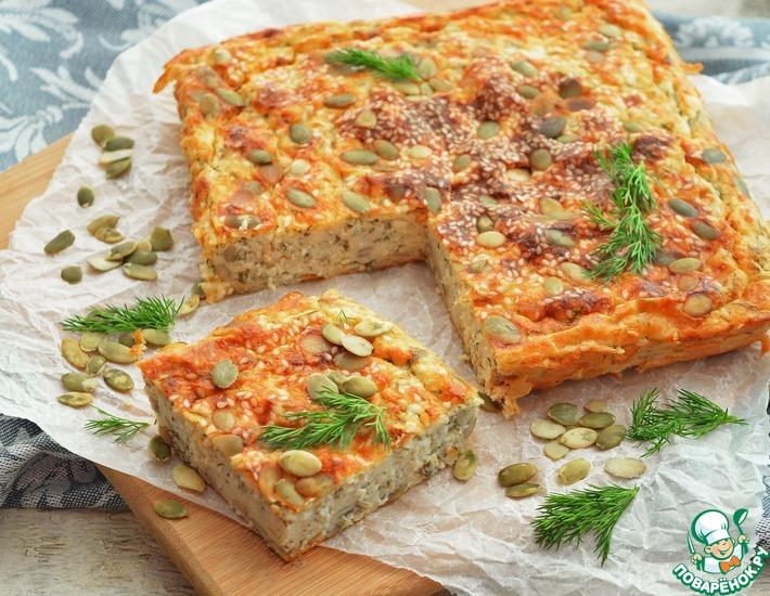Рецепт: Творожная запеканка для полезного питания