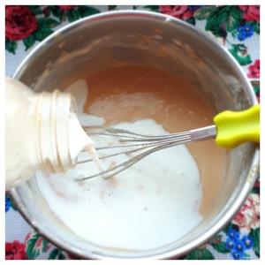 Блинчики на яблочном пюре Молоко