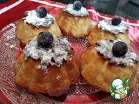 Творожные кексы с печеными яблоками ингредиенты