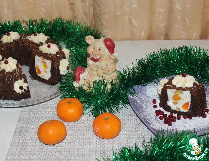 Рецепт: Новогодний торт