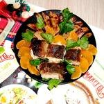 Рыба и картофель запеченные