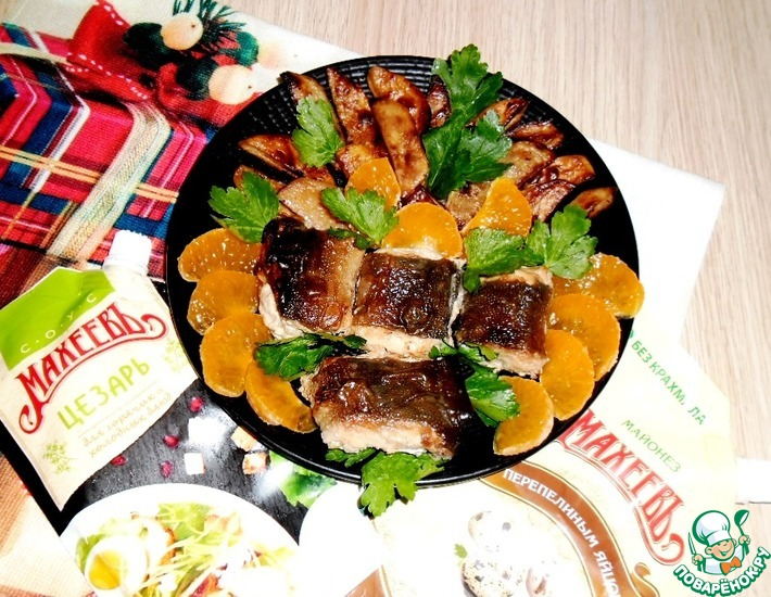 Рецепт: Рыба и картофель запеченные