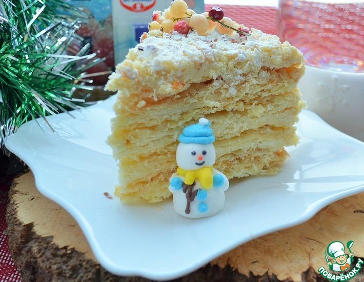 Рецепт: Торт Рубленый