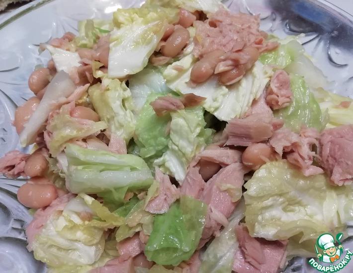 Рецепт: Салат Три шага