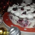 Торт Снежная вишня