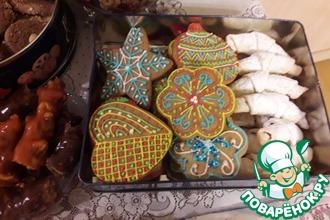 Рецепт: Рождественское имбирное печенье