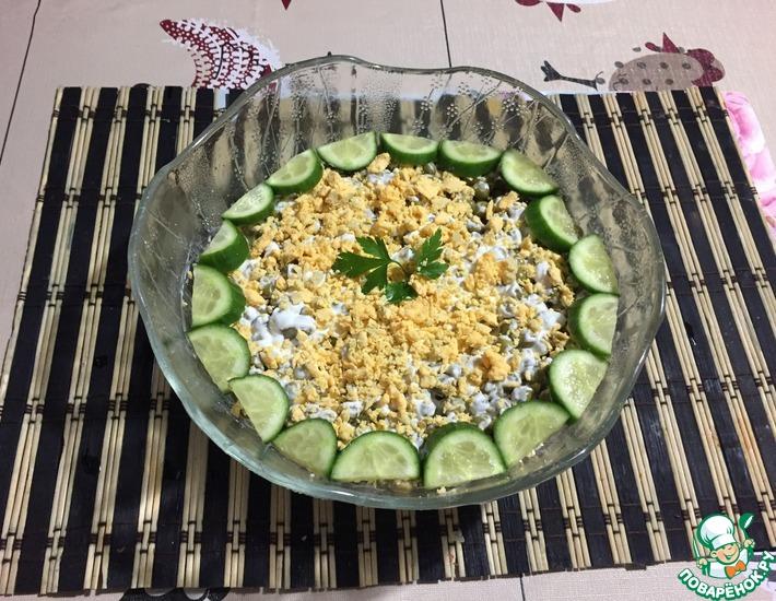 Рецепт: Салат Тунец под шубой