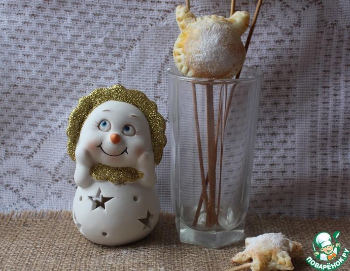 Рецепт: Печенье-попсы с шоколадом