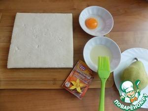 Груши в слоеном тесте — рецепт с фото пошагово