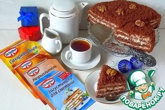 Рецепт: Классический торт Поль Робсон