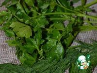 Перловка с творогом и травами ингредиенты