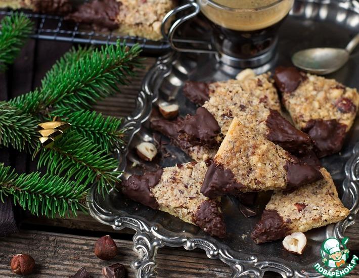"""Рождественское печенье с фундуком """"Бределе"""""""