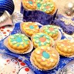 Печенье Марципановые сендвичи в сахарной глазури