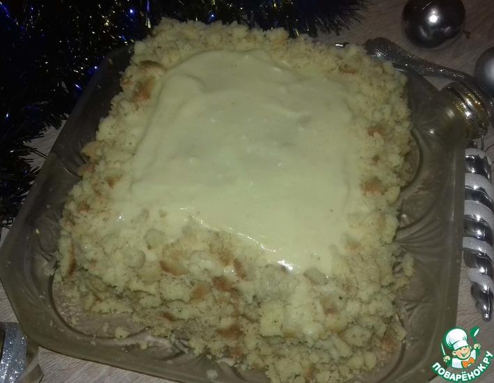 Рецепт: Бабушкин торт
