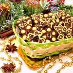 Шоколадно-ореховое печенье с пряностями