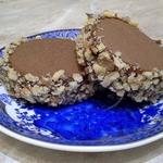 Шоколадное печенье с варёной сгущенкой