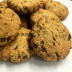 Овсяное печенье с черносливом и льном