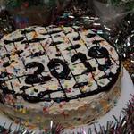 Торт Славянка со смородиной