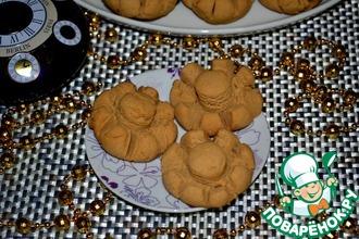 Рецепт: Печенье Карамелька